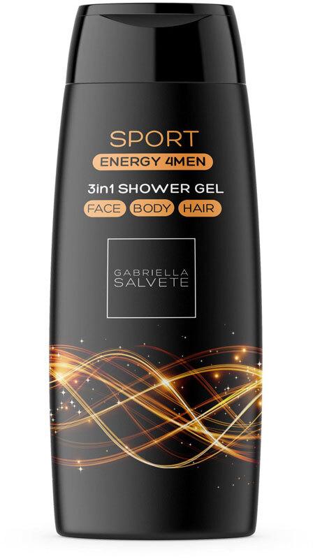 Gabriella Salvete Energy 4Men Sport 3in1 Shower Gel 250ml
