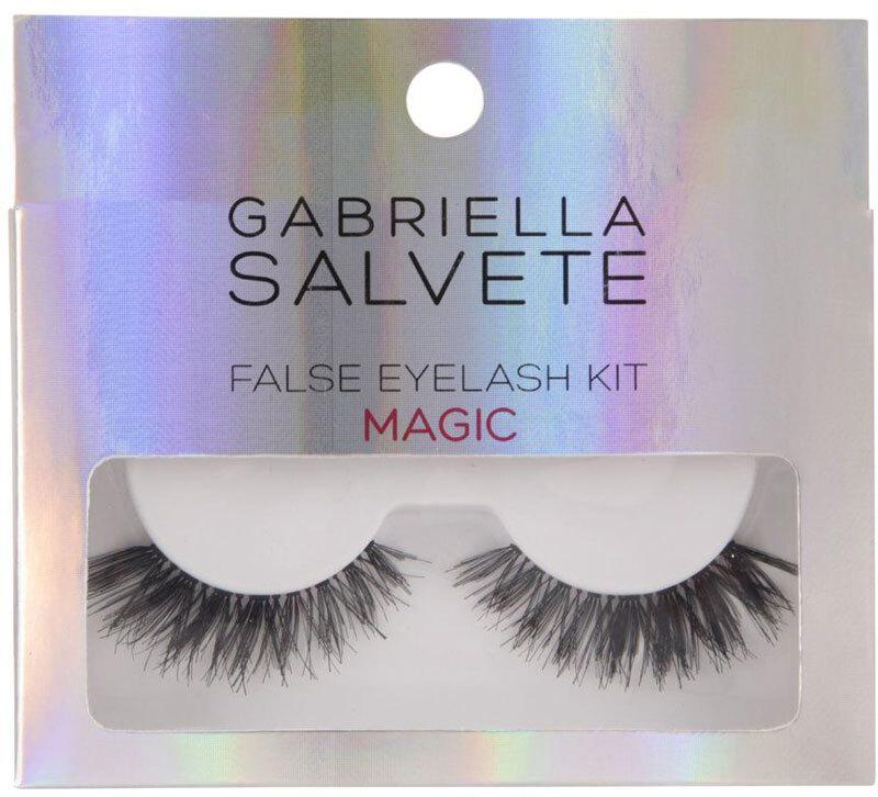 Gabriella Salvete False Eyelashes False Eyelashes Magic 1pc Combo: False Lashes 1 Pair + Lash Glue 1 G