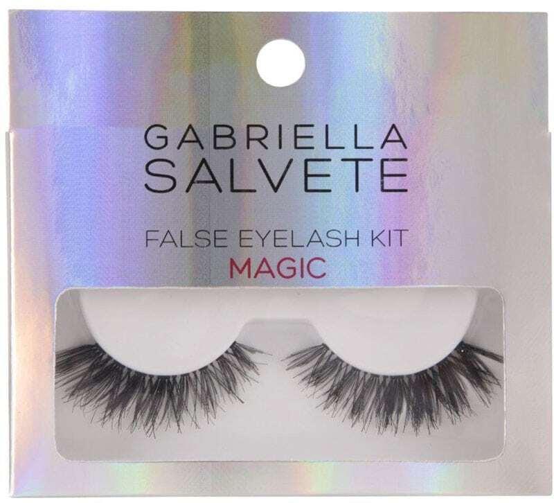 Gabriella Salvete False Eyelashes False Eyelashes Magic 1pc Combo: False Lashes 1 Pair + Lash Glue 1 G Damaged Box