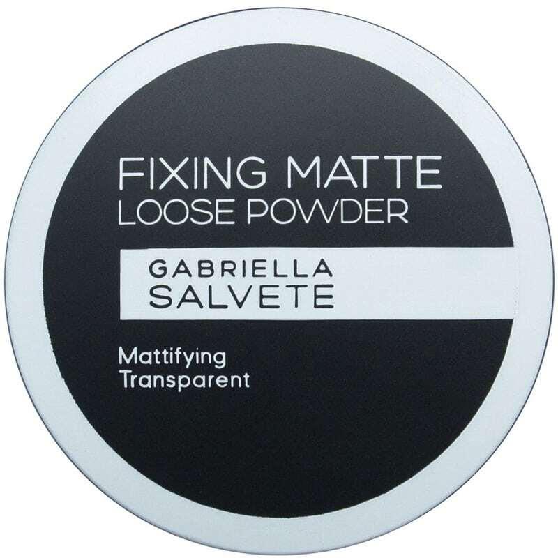 Gabriella Salvete Fixing Matte Loose Powder Powder Transparent 6gr