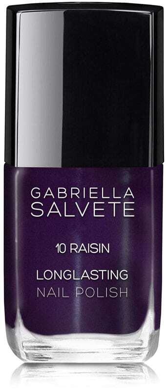 Gabriella Salvete Longlasting Enamel Nail Polish 10 Raisin 11ml