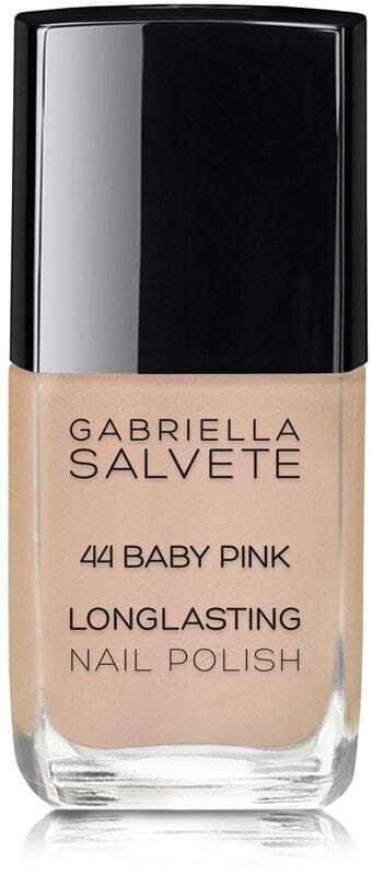 Gabriella Salvete Longlasting Enamel Nail Polish 44 Baby Pink 11ml