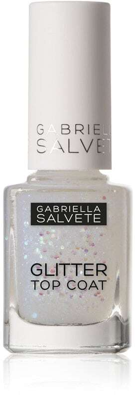Gabriella Salvete Nail Care Glitter Top Coat Nail Polish 17 11ml