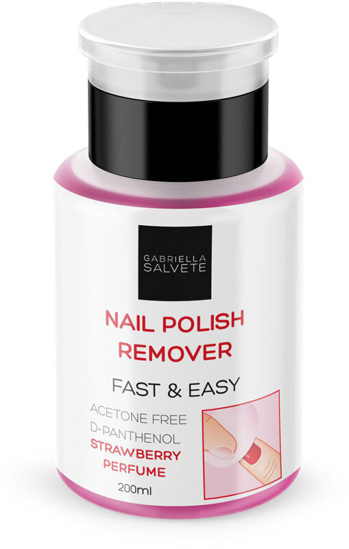 Gabriella Salvete Nail Polish Remover Fast & Easy Nail Polish Remover 200ml
