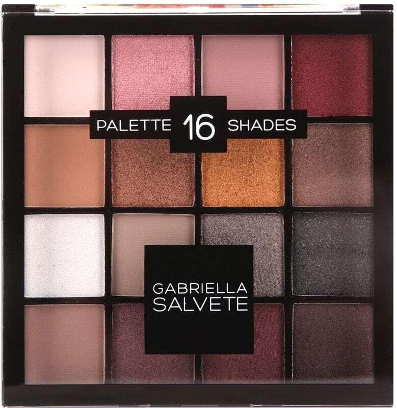 Gabriella Salvete Palette 16 Shades Eye Shadow 02 Pink 20,8gr