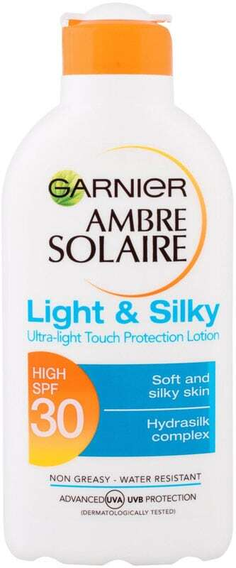 Garnier Ambre Solaire Light & Silky SPF30 Sun Body Lotion 200ml