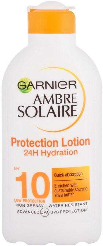 Garnier Ambre Solaire Protection Lotion Low SPF10 Sun Body Lotion 200ml