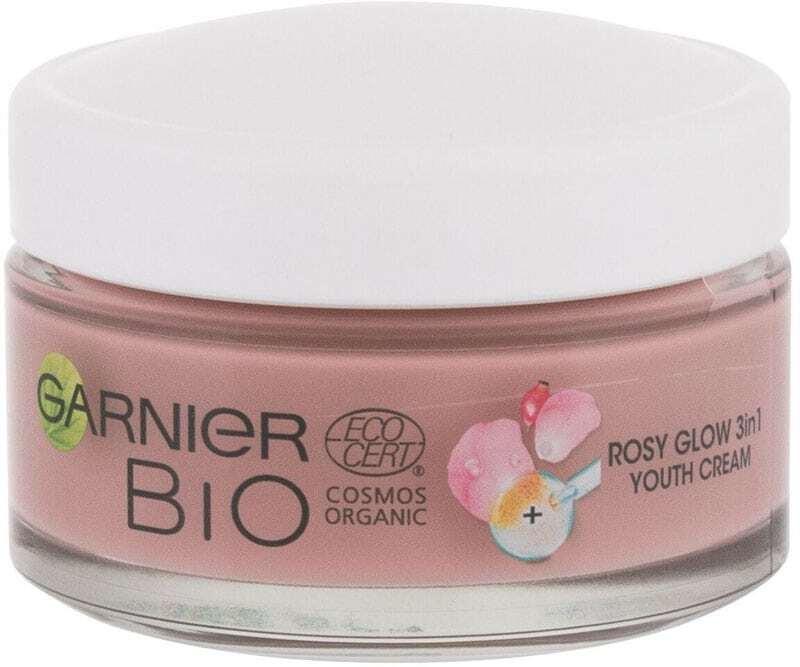 Garnier Bio Rosy Glow 3in1 Day Cream 50ml (For All Ages)