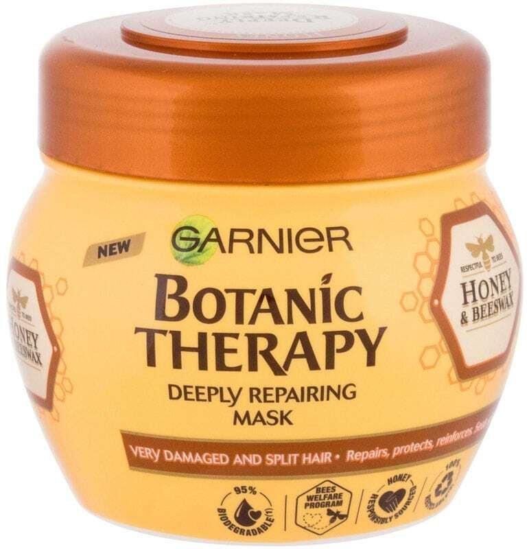 Garnier Botanic Therapy Honey & Beeswax Hair Mask 300ml (Damaged Hair)