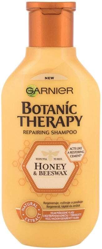 Garnier Botanic Therapy Honey & Beeswax Shampoo 250ml (Oily Hair - Damaged Hair - Dry Hair)