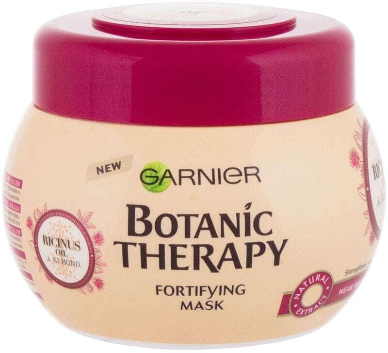 Garnier Botanic Therapy Ricinus Oil & Almond Hair Mask 300ml (Brittle Hair - Weak Hair)