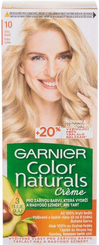 Garnier Color Naturals Créme Hair Color 10 Natural Ultra Light Blond 40ml (Colored Hair - All Hair Types)