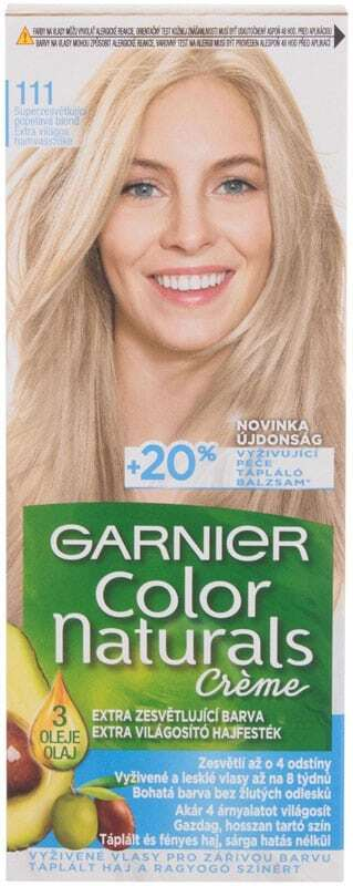 Garnier Color Naturals Créme Hair Color 111 Extra Light Natural Ash Blond 40ml (Colored Hair - Blonde Hair - All Hair Types)