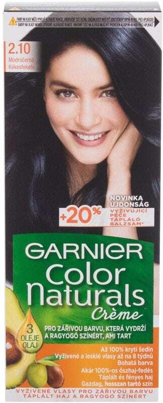 Garnier Color Naturals Créme Hair Color 2,10 Blueberry Black 40ml (Colored Hair - All Hair Types)