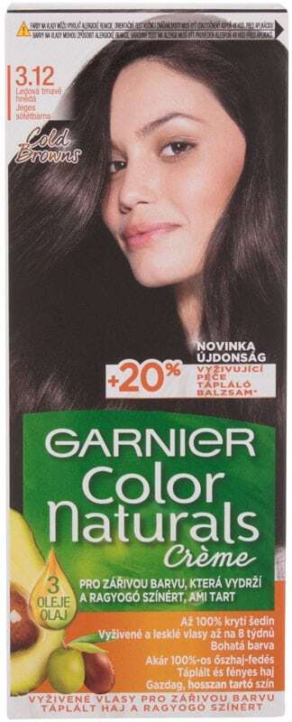 Garnier Color Naturals Créme Hair Color 3,12 Icy Dark Brown 40ml (Colored Hair - All Hair Types)