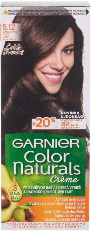 Garnier Color Naturals Créme Hair Color 5,12 Icy Light Brown 40ml (Colored Hair - All Hair Types)