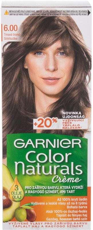Garnier Color Naturals Créme Hair Color 6,00 Natural Medium Blonde 40ml (Colored Hair - All Hair Types)