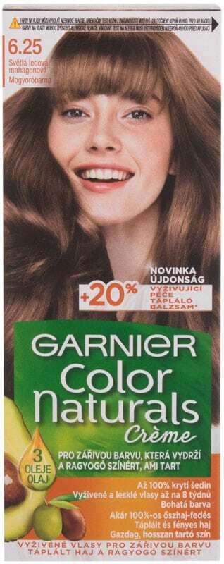 Garnier Color Naturals Créme Hair Color 6,25 Light Icy Mahogany 40ml (Colored Hair - All Hair Types)
