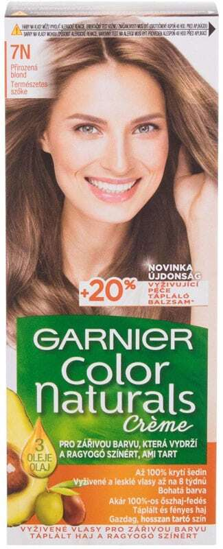 Garnier Color Naturals Créme Hair Color 7N Nude Blond 40ml (Colored Hair - All Hair Types)