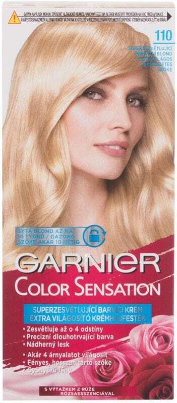 Garnier Color Sensation Hair Color 110 Diamond Ultra Blond 40ml (Colored Hair - All Hair Types)