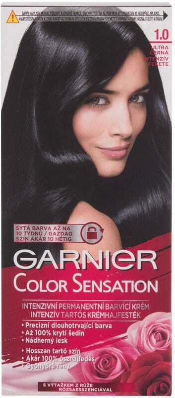 Garnier Color Sensation Hair Color 1,0 Ultra Onyx Black 40ml (Colored Hair - All Hair Types)
