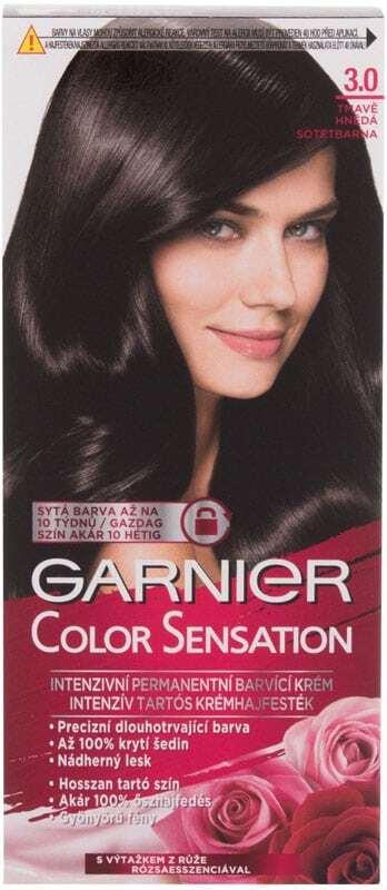 Garnier Color Sensation Hair Color 3,0 Prestige brown 40ml (Colored Hair - All Hair Types)