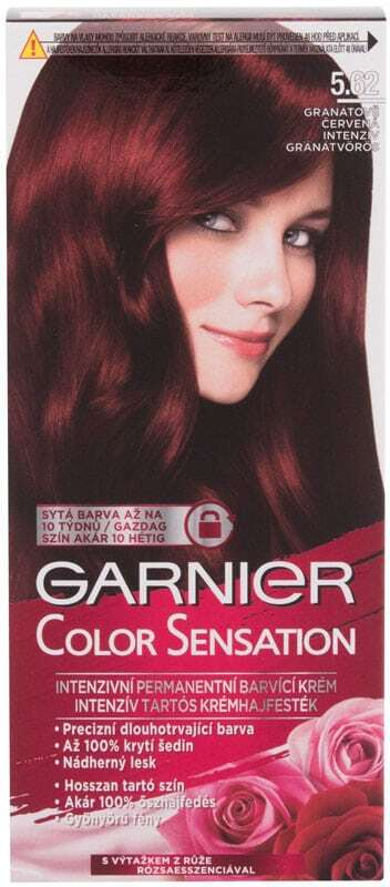 Garnier Color Sensation Hair Color 5,62 Intense Precious Garnet 40ml (Colored Hair - All Hair Types)