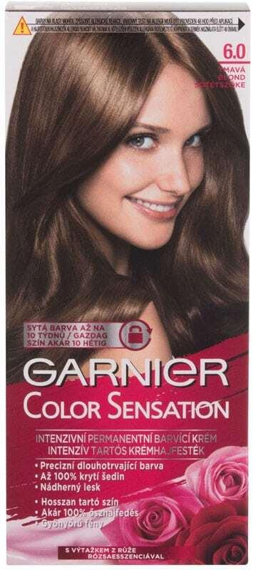 Garnier Color Sensation Hair Color 6,0 Precious Dark Blonde 40ml (Colored Hair - All Hair Types)