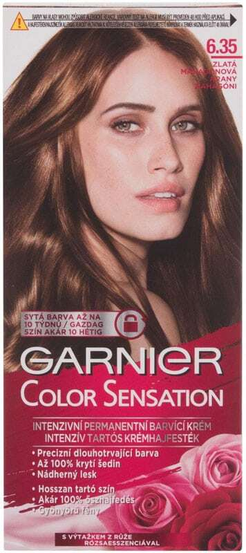 Garnier Color Sensation Hair Color 6,35 Chic Orche Brown 40ml (Colored Hair - All Hair Types)