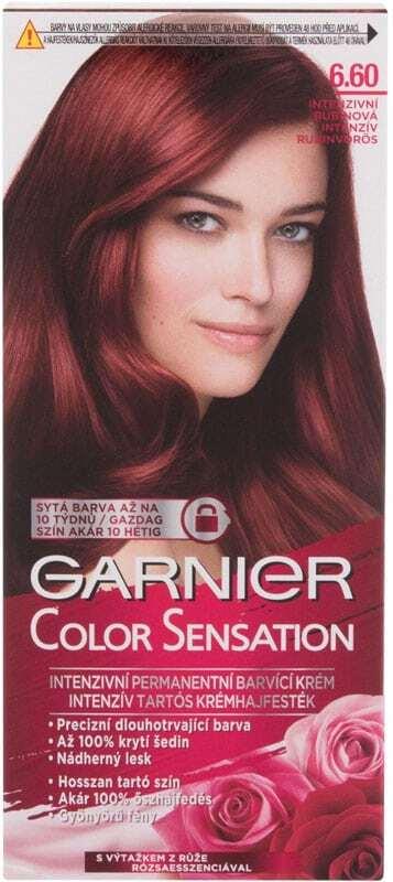 Garnier Color Sensation Hair Color 6,60 Intense Ruby 40ml (Colored Hair - All Hair Types)