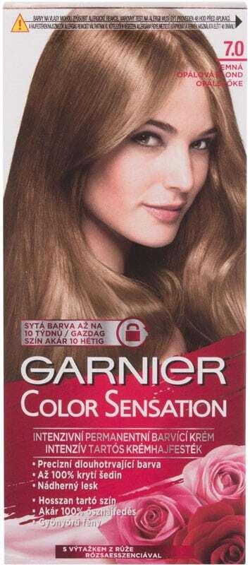 Garnier Color Sensation Hair Color 7,0 Delicate Opal Blond 40ml (Colored Hair - All Hair Types)