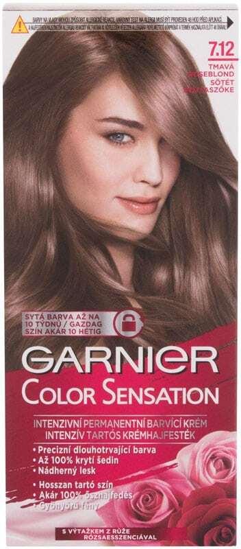 Garnier Color Sensation Hair Color 7,12 Dark Roseblonde 40ml (Colored Hair - All Hair Types)