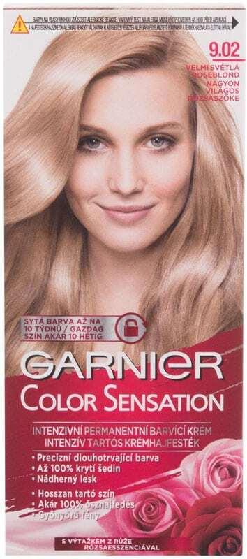 Garnier Color Sensation Hair Color 9,02 Light Roseblonde 40ml (Colored Hair - All Hair Types)