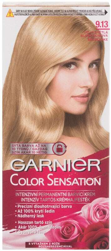 Garnier Color Sensation Hair Color 9,13 Cristal Beige Blond 40ml (Colored Hair - All Hair Types)