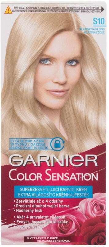 Garnier Color Sensation Hair Color S10 Silver Blonde 40ml (Colored Hair - All Hair Types)