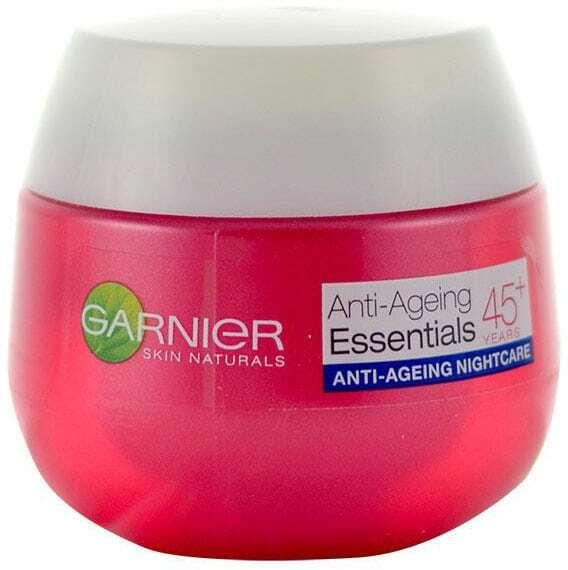 Garnier Essentials Anti-Ageing 45+ Night Skin Cream 50ml (Wrinkles - Mature Skin)