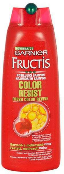 Garnier Fructis Color Resist Shampoo 250ml (Colored Hair - Highlighted Hair)