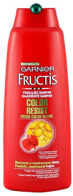 Garnier Fructis Color Resist Shampoo 400ml (Colored Hair - Highlighted Hair)