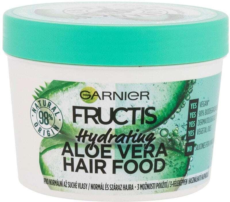 Garnier Fructis Hair Food Aloe Vera Hair Mask 390ml (Normal Hair - Dry Hair)