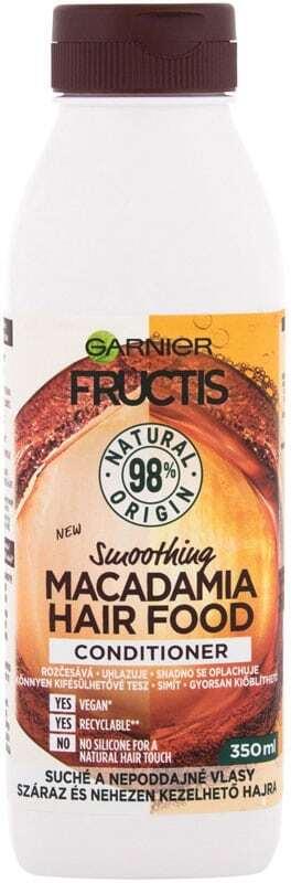 Garnier Fructis Hair Food Macadamia Conditioner 350ml (Unruly Hair - Dry Hair)