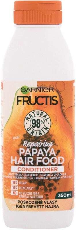 Garnier Fructis Hair Food Papaya Conditioner 350ml (Damaged Hair)