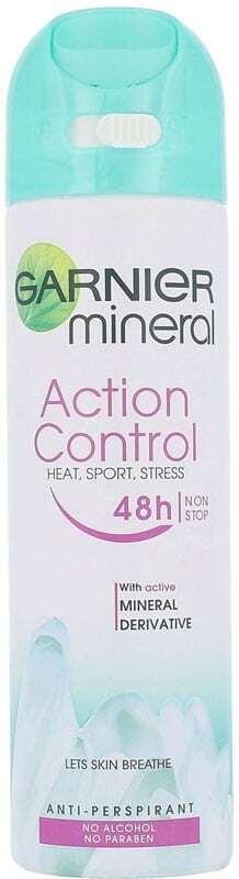 Garnier Mineral Action Control 48h Antiperspirant 150ml (Deo Spray - Alcohol Free)