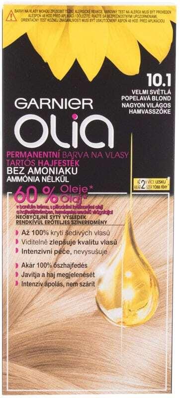 Garnier Olia Hair Color 10,1 Ashy Very Light Blonde 50gr (Colored Hair - All Hair Types)