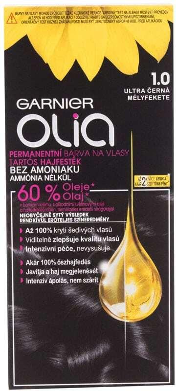Garnier Olia Hair Color 1,0 Deep Black 50gr (Colored Hair - All Hair Types)