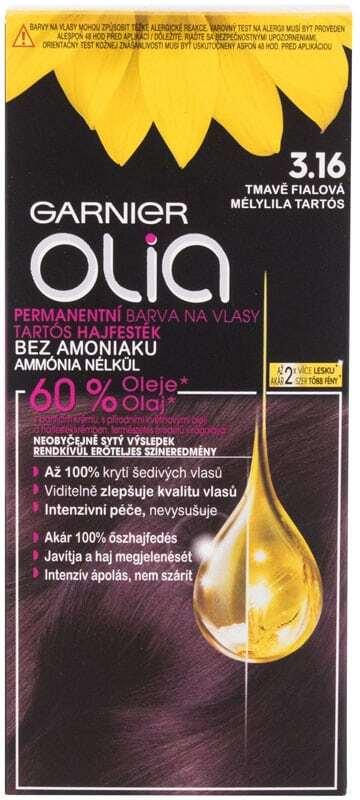 Garnier Olia Hair Color 3,16 Deep Violet 50gr (Colored Hair - All Hair Types)