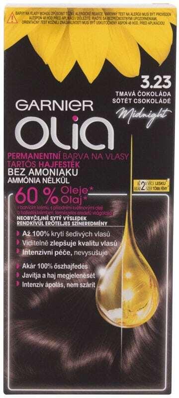 Garnier Olia Hair Color 3,23 Black Amber 50gr (Colored Hair - All Hair Types)
