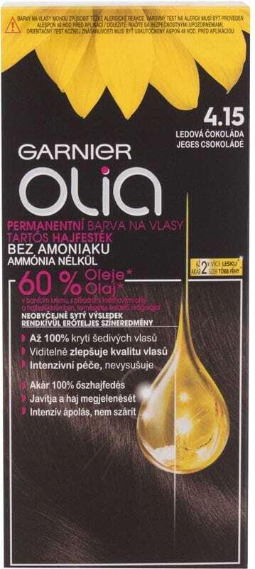 Garnier Olia Hair Color 4,15 Iced Chocolate 50gr (Colored Hair - All Hair Types)