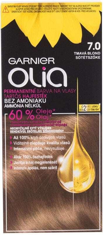 Garnier Olia Hair Color 7,0 Dark Blonde 50gr (Colored Hair - All Hair Types)