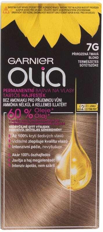 Garnier Olia Hair Color 7G Dark Greige 50gr (Colored Hair - Blonde Hair - All Hair Types)