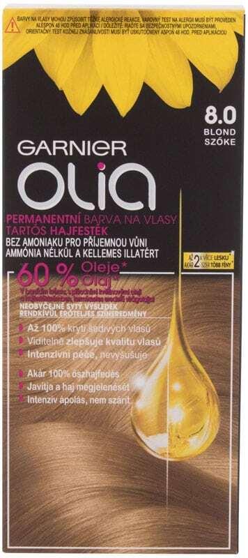 Garnier Olia Hair Color 8,0 Blond 50gr (Colored Hair - Blonde Hair - All Hair Types)
